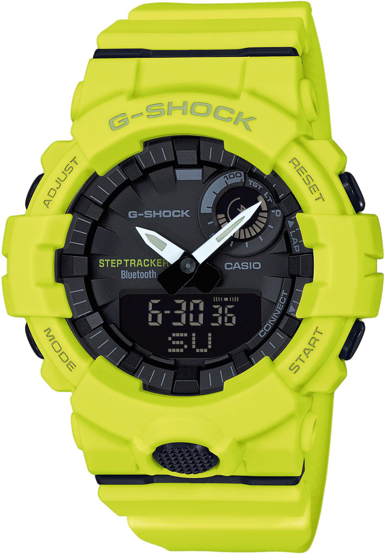 CASIO G-SHOCK GBA-800-9AER Ur Herrer, yellow/yellow/black (2019)   Sports watches