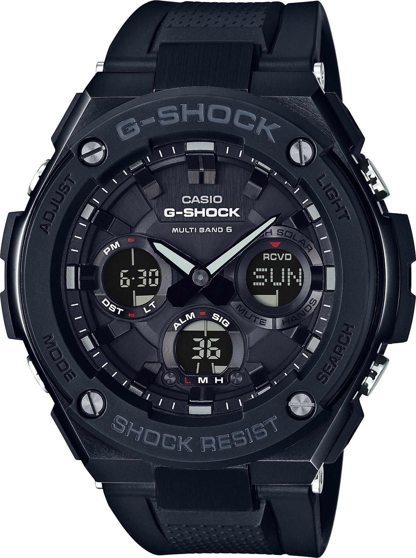 CASIO G-SHOCK GST-W100G-1BER Ur Herrer, black (2019)   Sports watches
