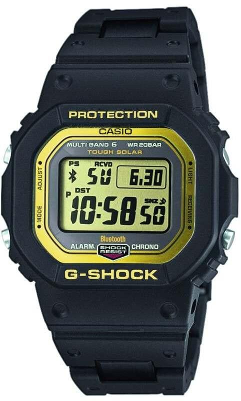 CASIO G-SHOCK GW-B5600BC-1ER Watch Men, black/black/gold   Sports watches
