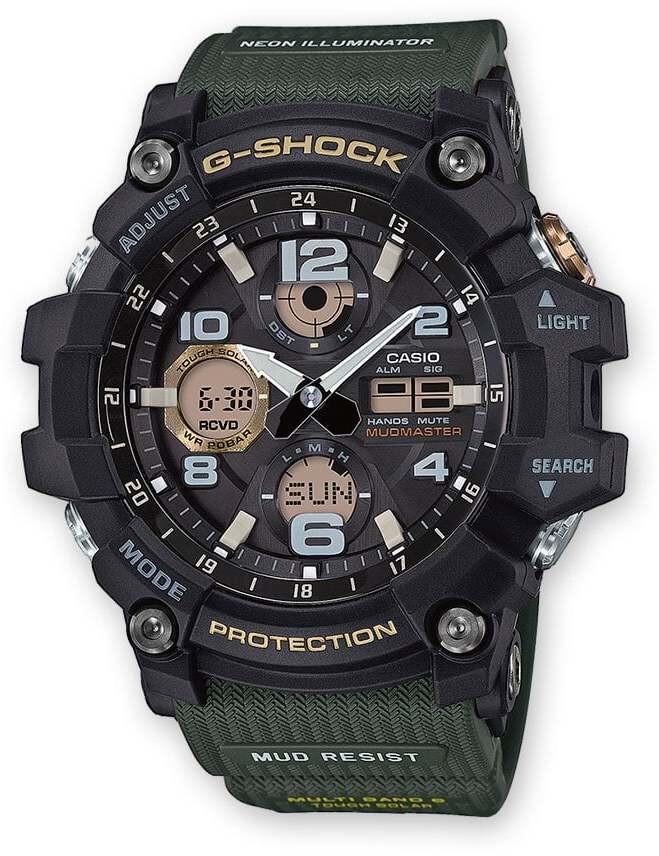 CASIO G-SHOCK GWG-100-1A3ER Ur Herrer, green/black/black (2019)   Sports watches