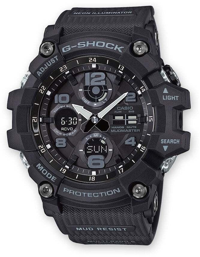 CASIO G-SHOCK GWG-100-1AER Ur Herrer, black (2019)   Sports watches