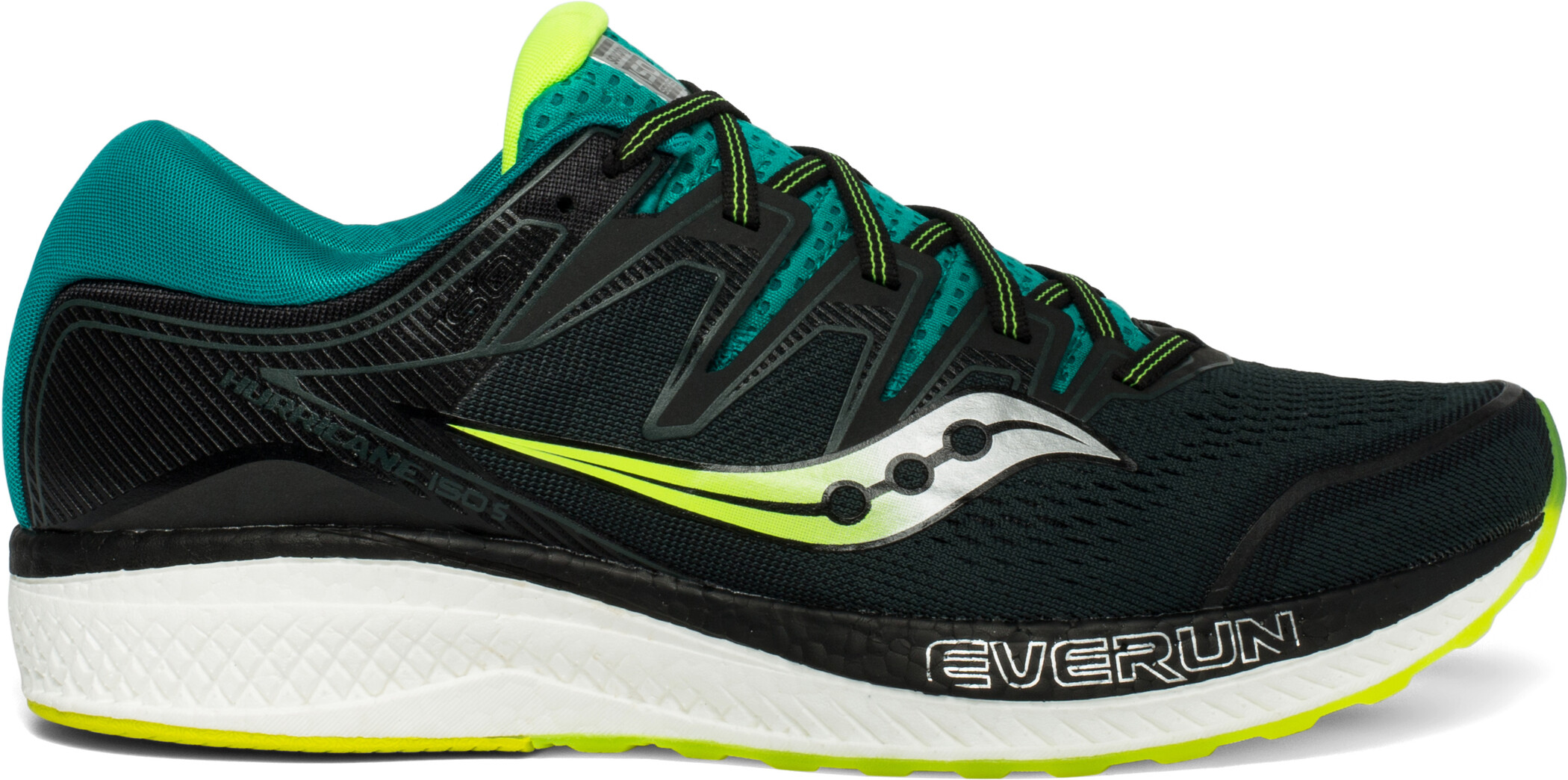 saucony Hurricane ISO 5 Shoes Men, green/teal (2019) | Shoes and overlays