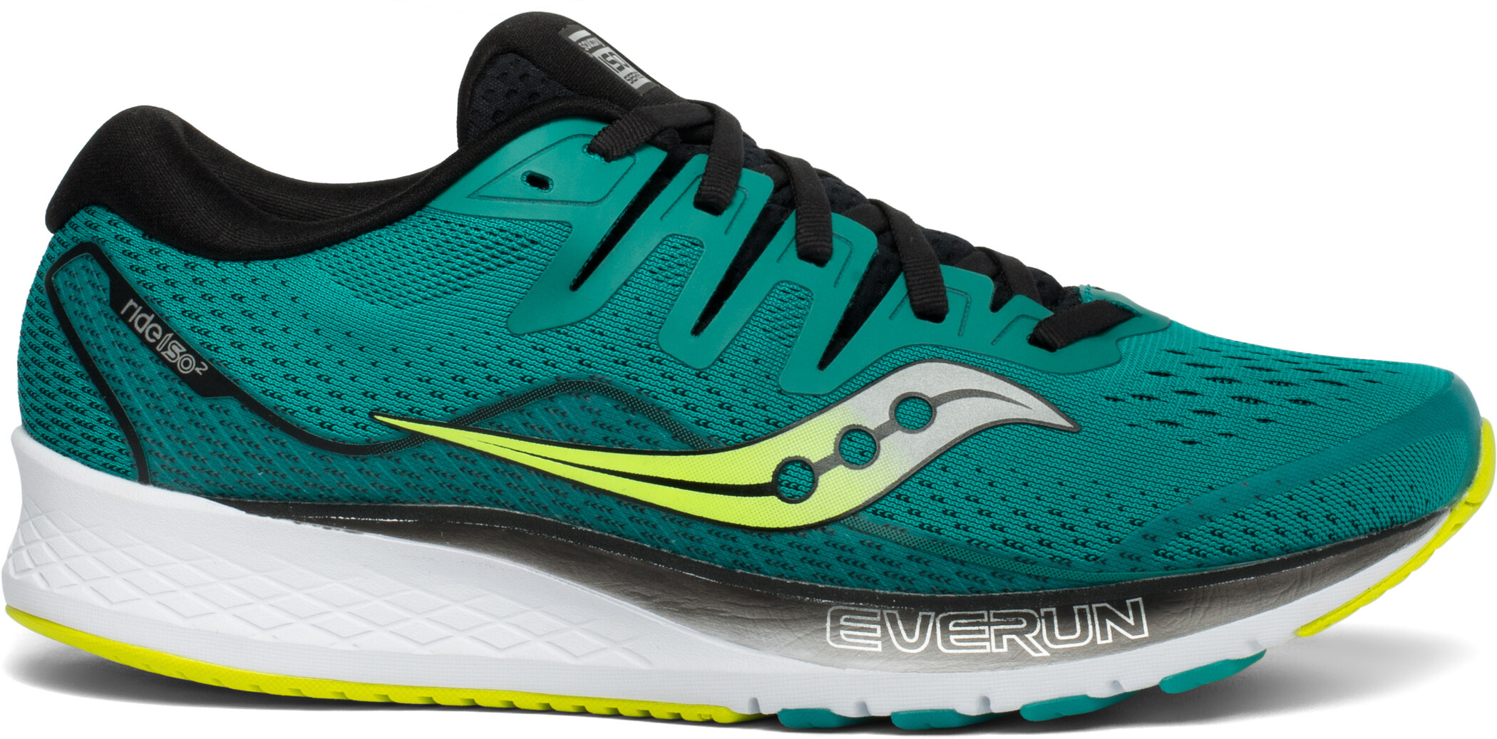 saucony Ride ISO 2 Shoes Men, teal/black (2019) | Running shoes