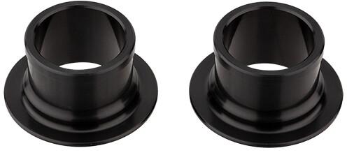 NEWMEN E-MTB Endekapper Ø15mm til Gen2 forhjulsnav, black anodized | Hubs