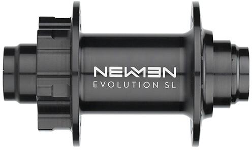 NEWMEN MTB SL Nav 20x110mm J-Bend 6-Bolt, black anodized/grey | Hubs