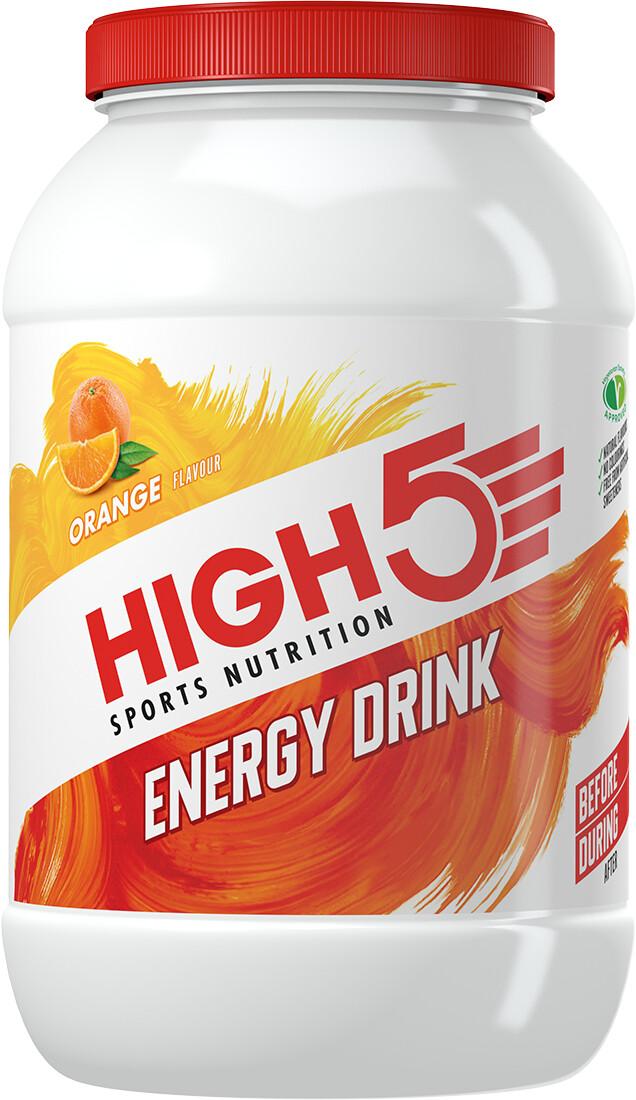 High5 Energy Drink 2,2kg, Orange | Energidrik og pulver