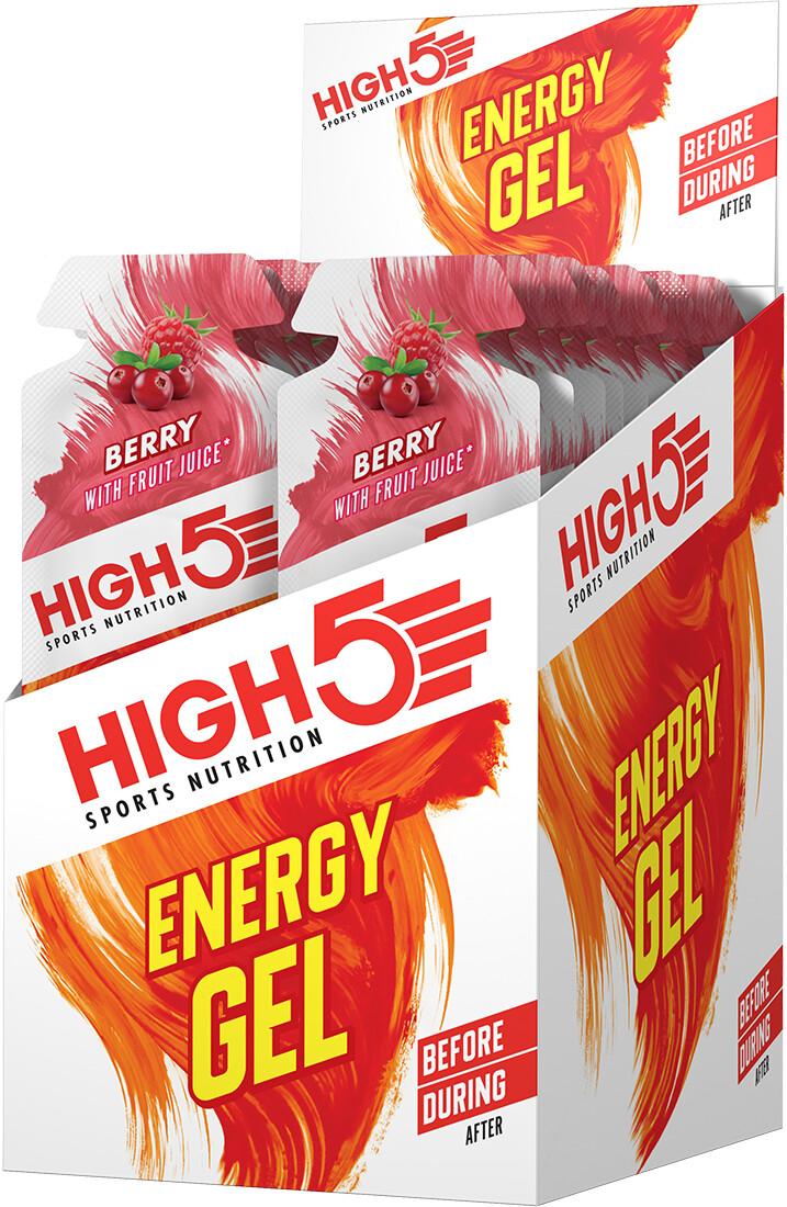 High5 Energy Gel Box 20x40g, Berry   Energy gels