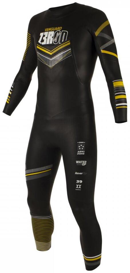 Z3R0D Vanguard Våddragt Herrer, black/yellow | Svømmetøj og udstyr
