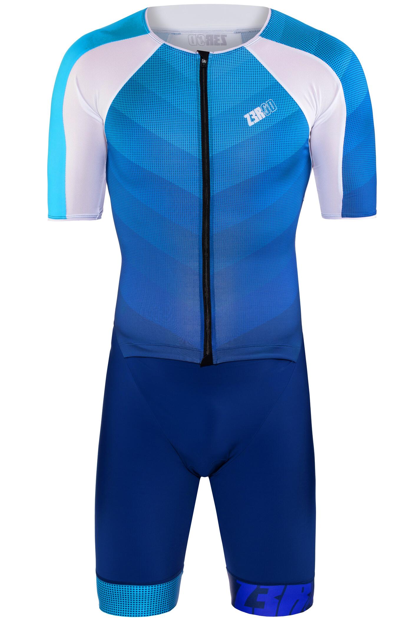Z3R0D Racer Time Trial Triatlondragt Herrer, dark blue/atoll | Svømmetøj og udstyr