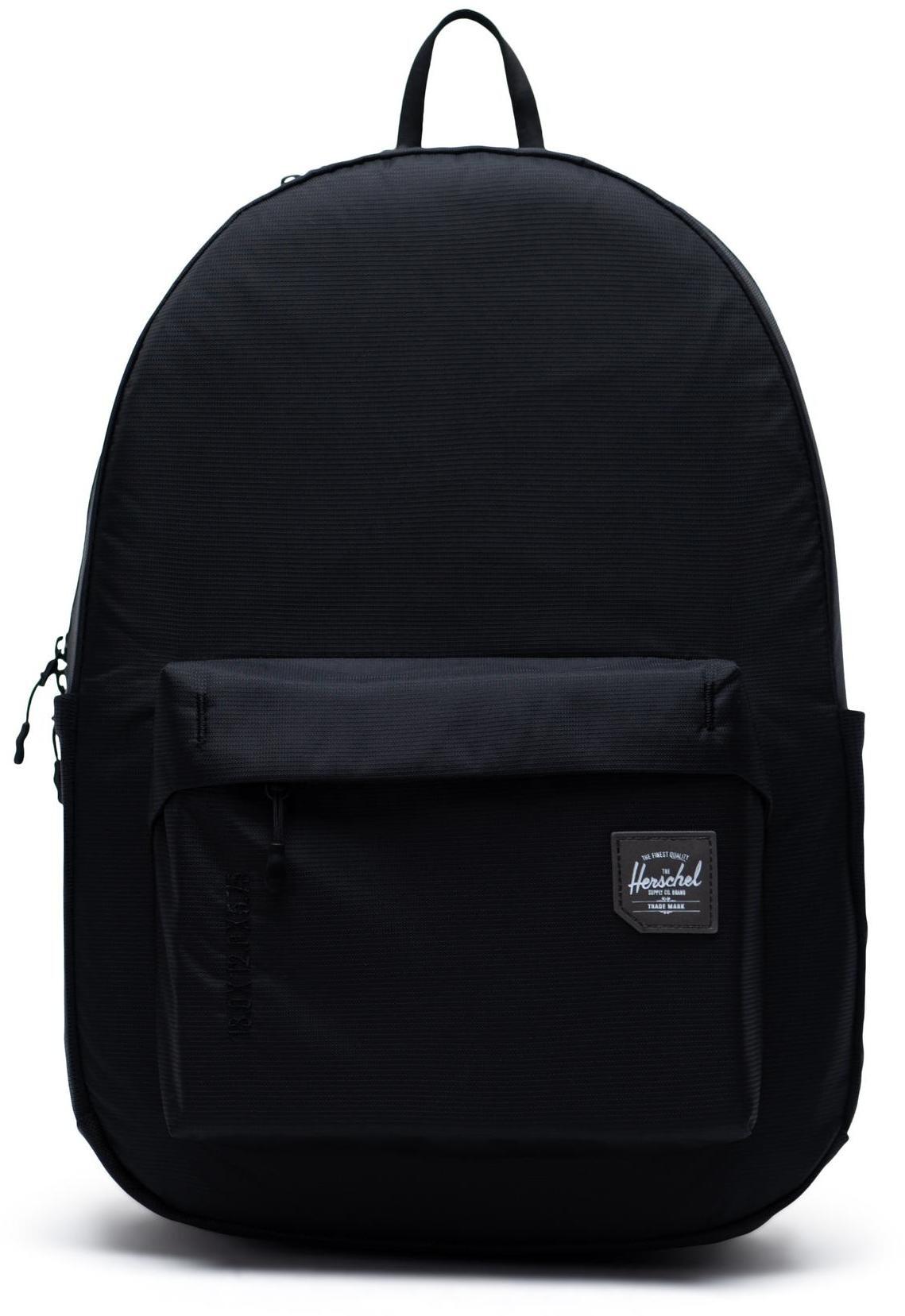 Herschel Rundle Backpack 24,5l, black (2019)   Rygsæk og rejsetasker