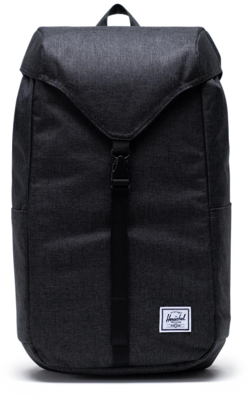 Herschel Thompson Backpack 17l, black crosshatch (2019)   Rygsæk og rejsetasker