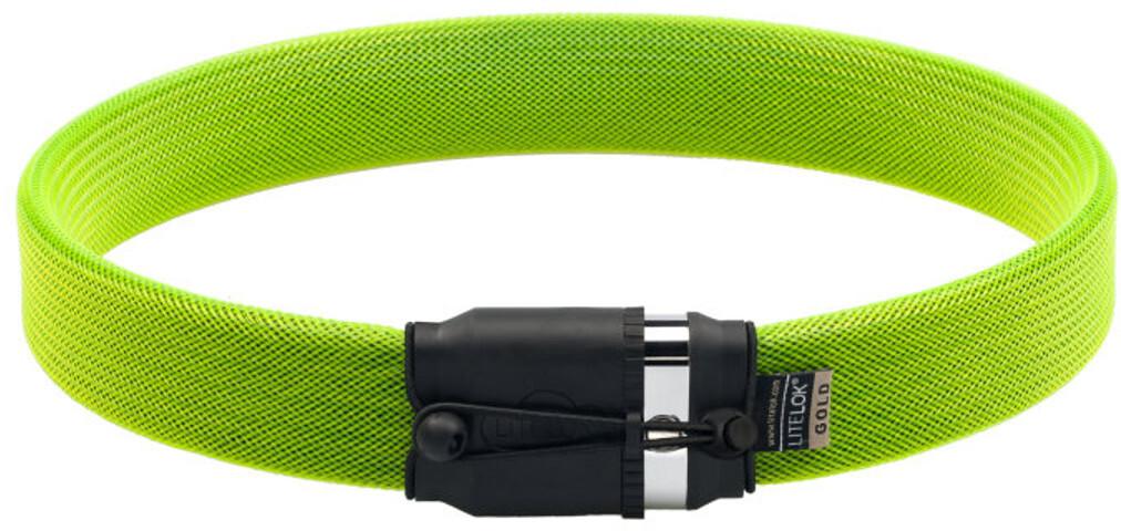 Litelok Gold Wearable Cykellås, boagreen (2019) | Combo Lock