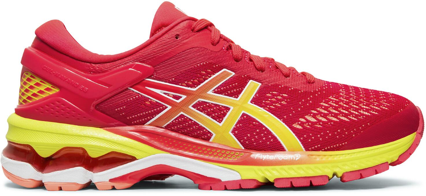 asics Gel-Kayano 26 Sko Damer, laser pink/sour yuzu (2019)   Running shoes