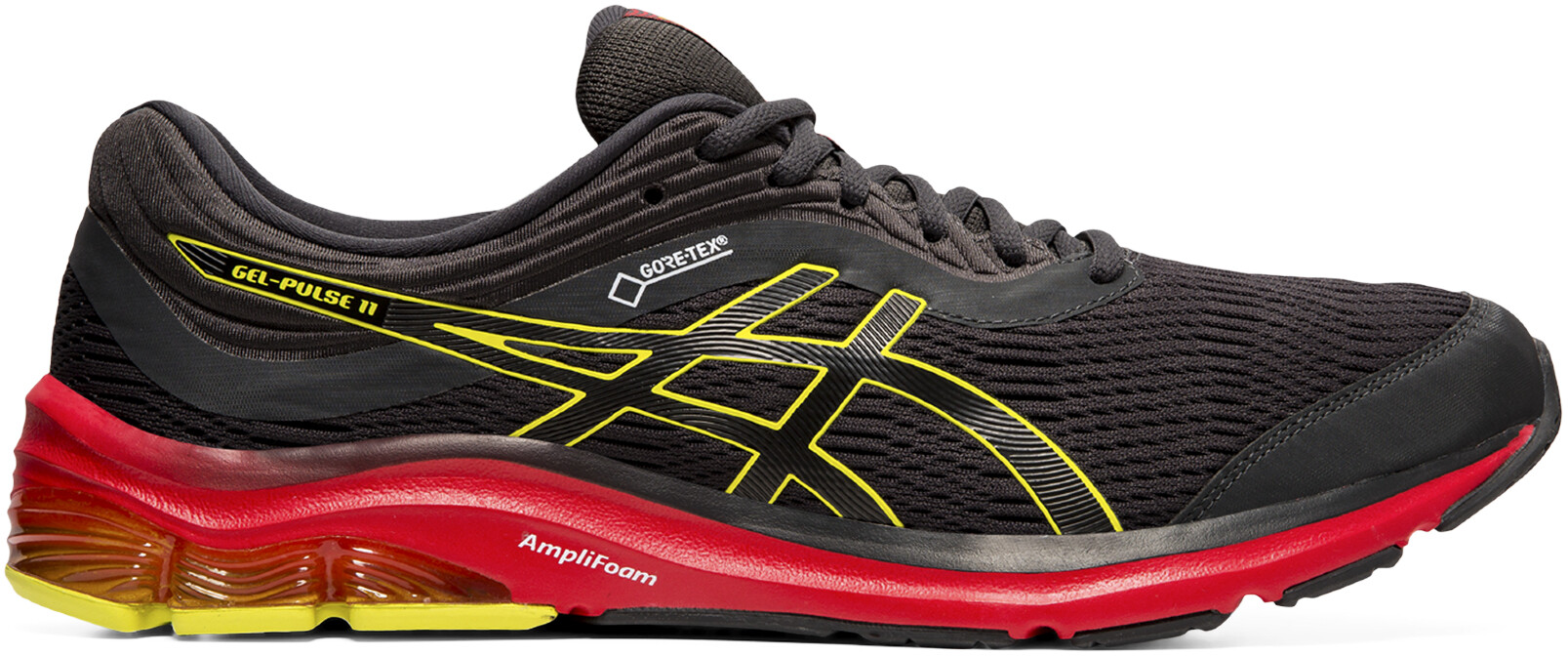 asics Gel-Pulse 11 G-TX Sko Herrer, graphite grey/sour yuzu | Running shoes