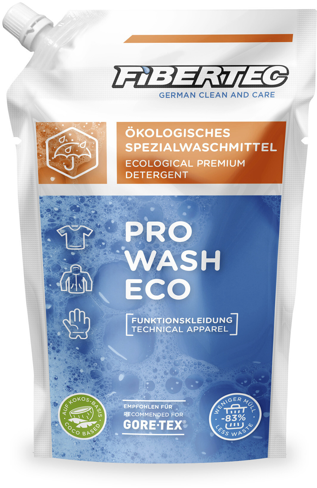 Fibertec Pro Wash Eco Refill 500ml Refill (2019) | Body maintenance