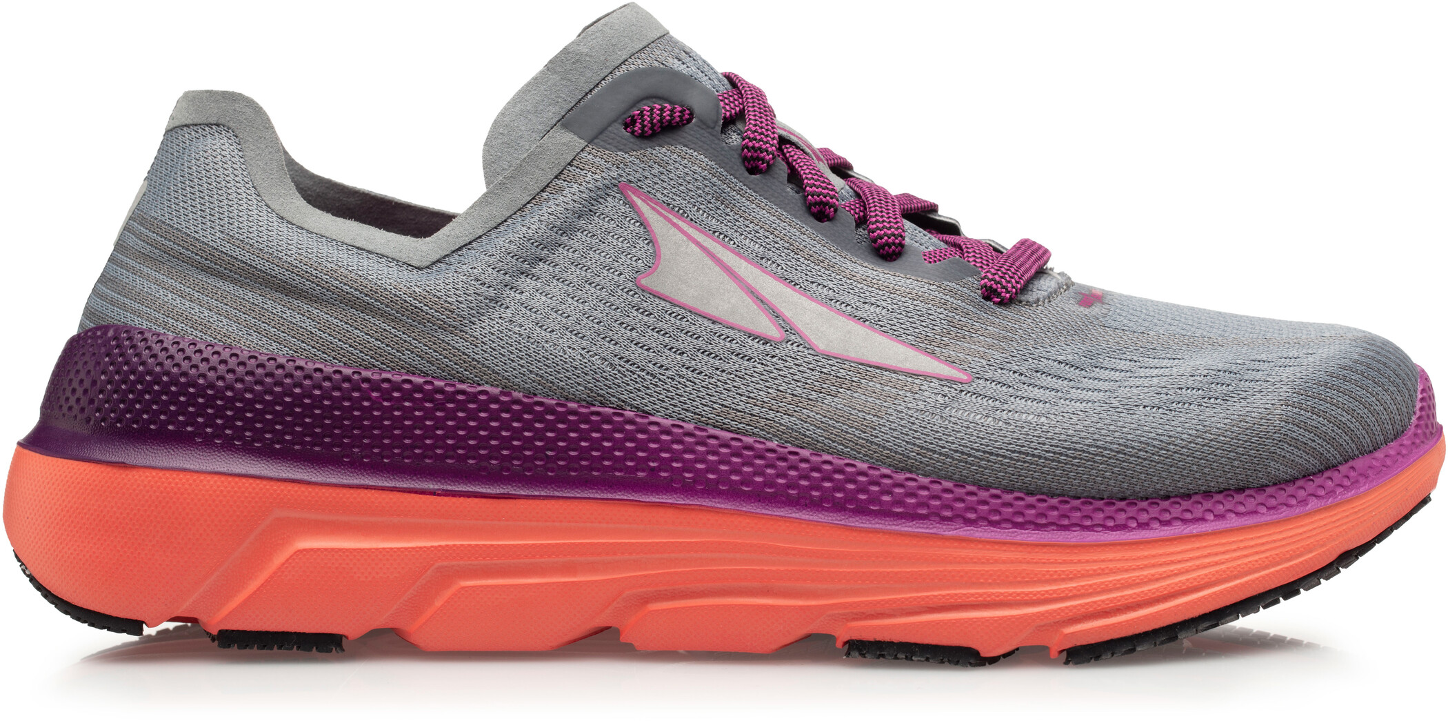 Altra Duo 1.5 Løbesko Damer, gray/coral (2019) | Running shoes
