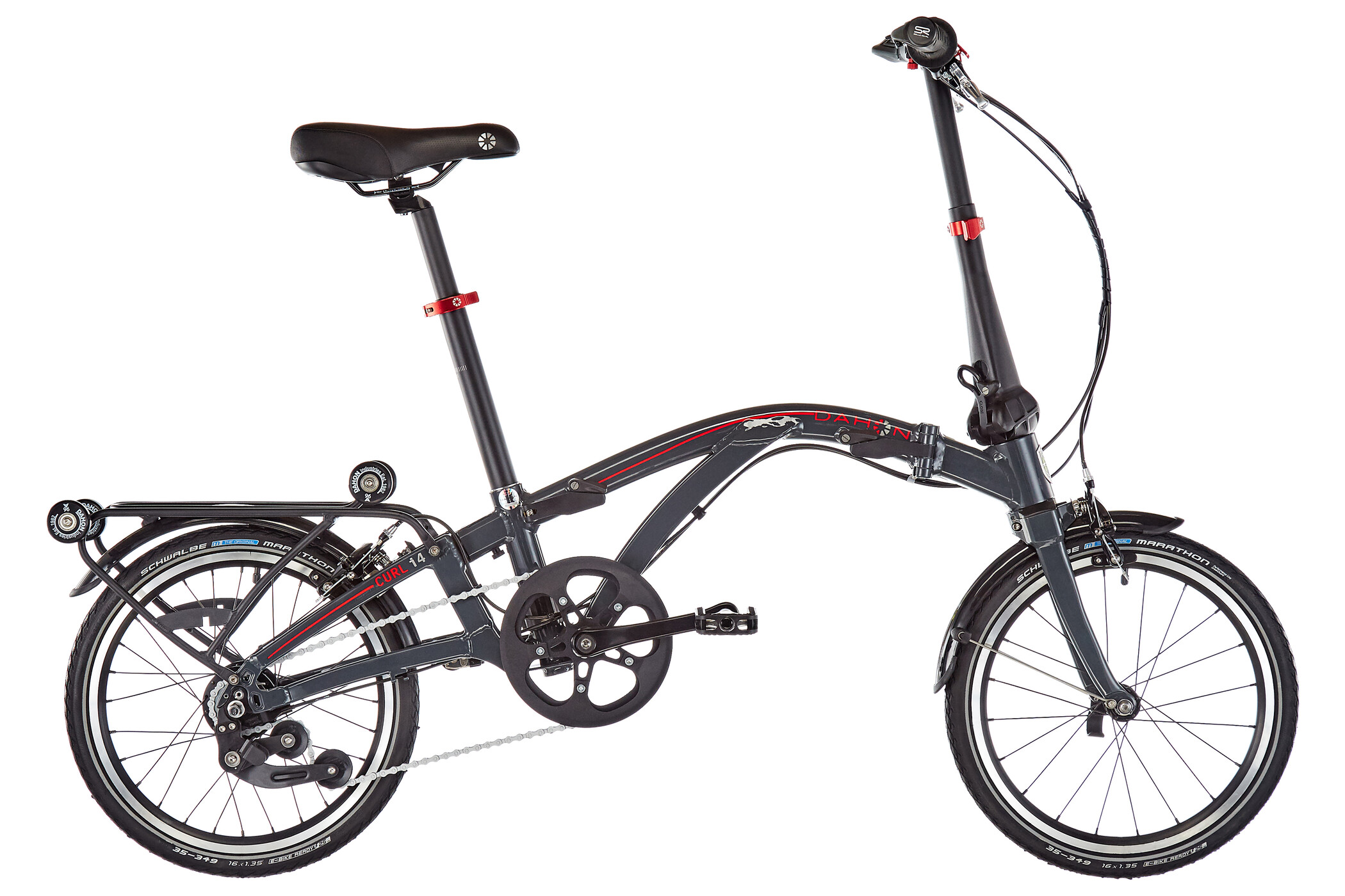 "DAHON Curl i4 16"", anthracite (2019) 
