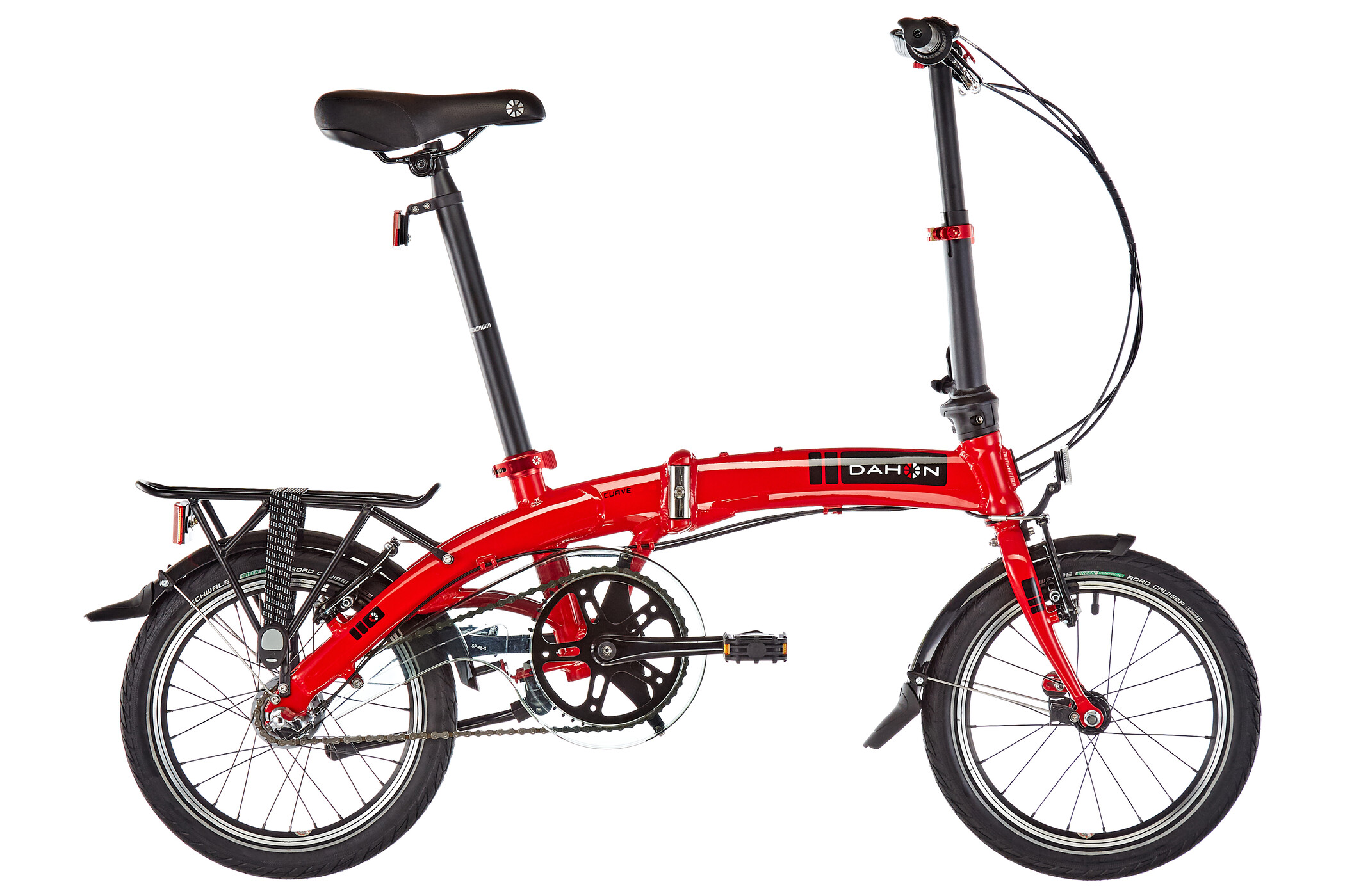 "DAHON Curve i3 16"", red (2019) 