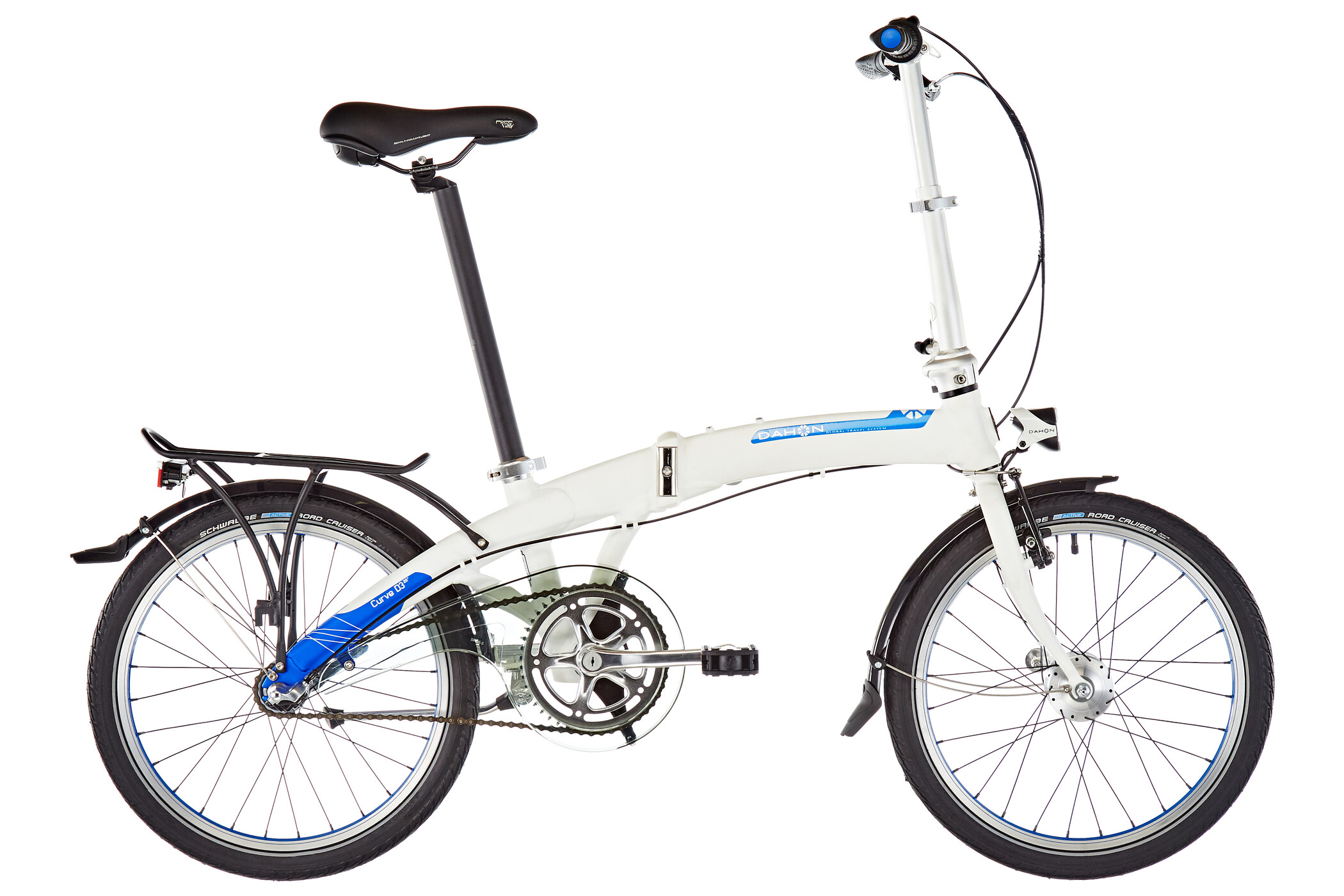 "DAHON Curve i3 20"", white (2019) 