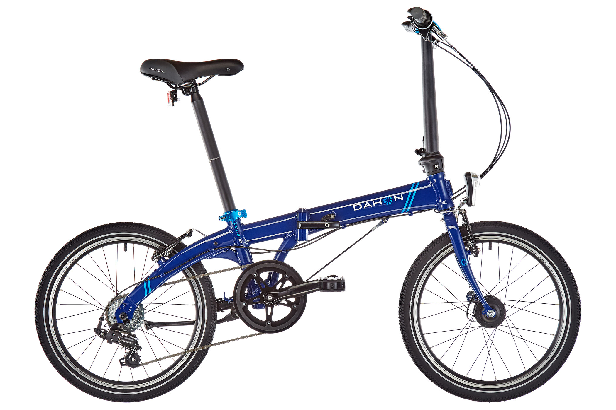"DAHON Vybe D7 20"", blue (2019) 
