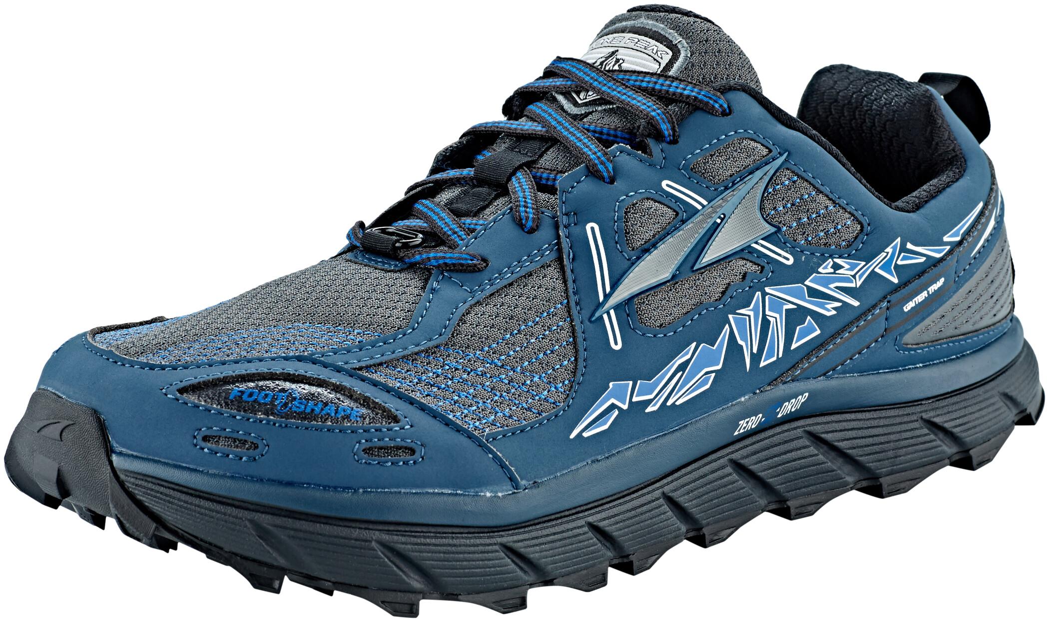 Altra Lone Peak 3.5 Sko Herrer, blue   Shoes and overlays