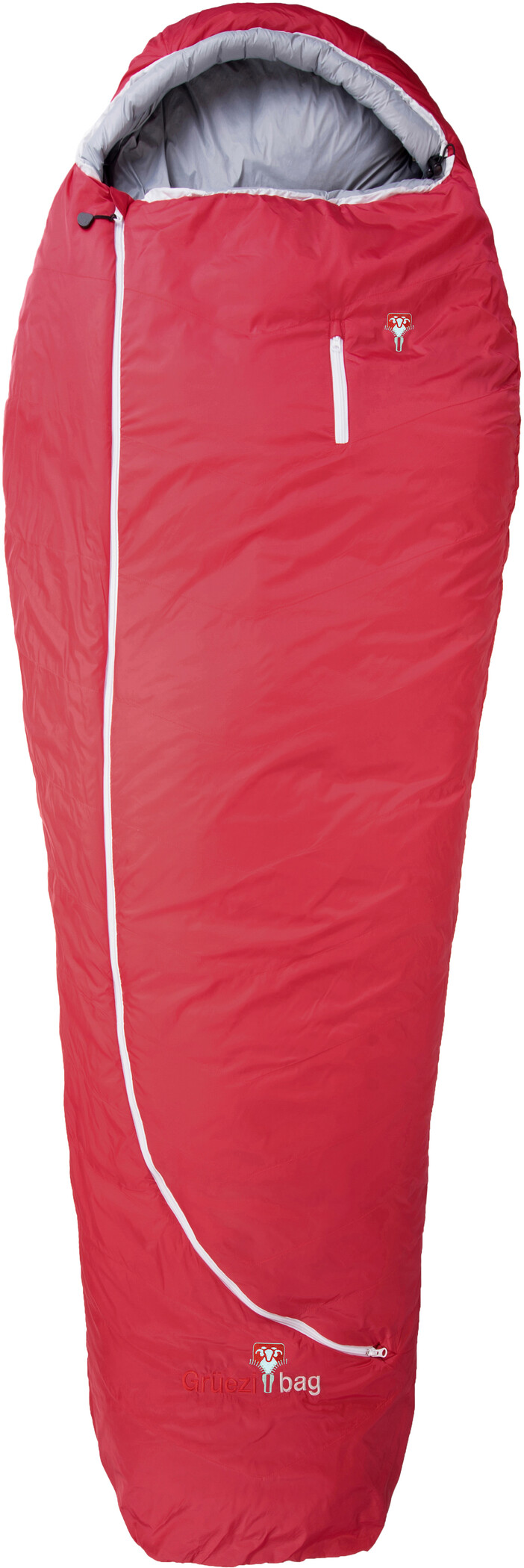 Grüezi-Bag Biopod Wool Zero Sovepose Regulær, tango red | Transport og opbevaring > Tilbehør