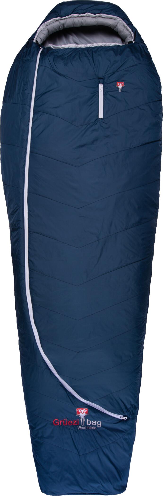 Grüezi-Bag Biopod Wool Zero Sovepose Regulær, night blue | Transport og opbevaring > Tilbehør