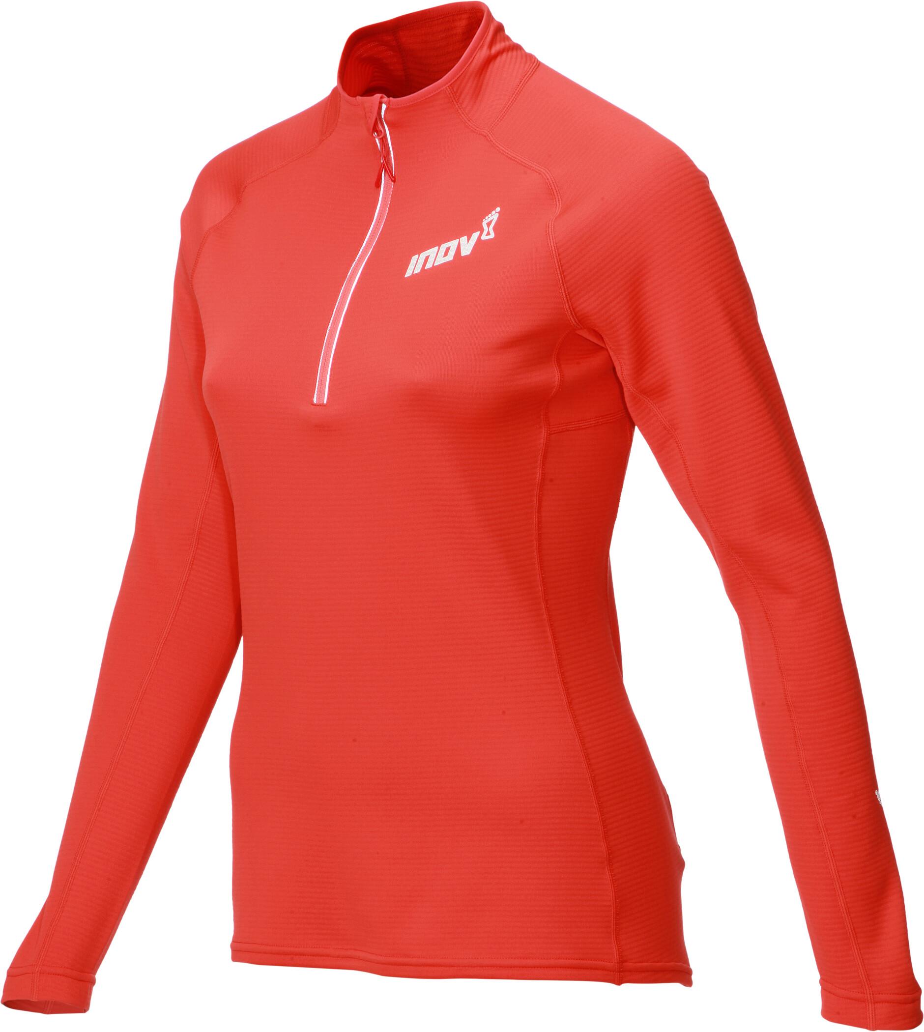 inov-8 Technical Mid HZ Shirt Damer, red (2019)   Jerseys
