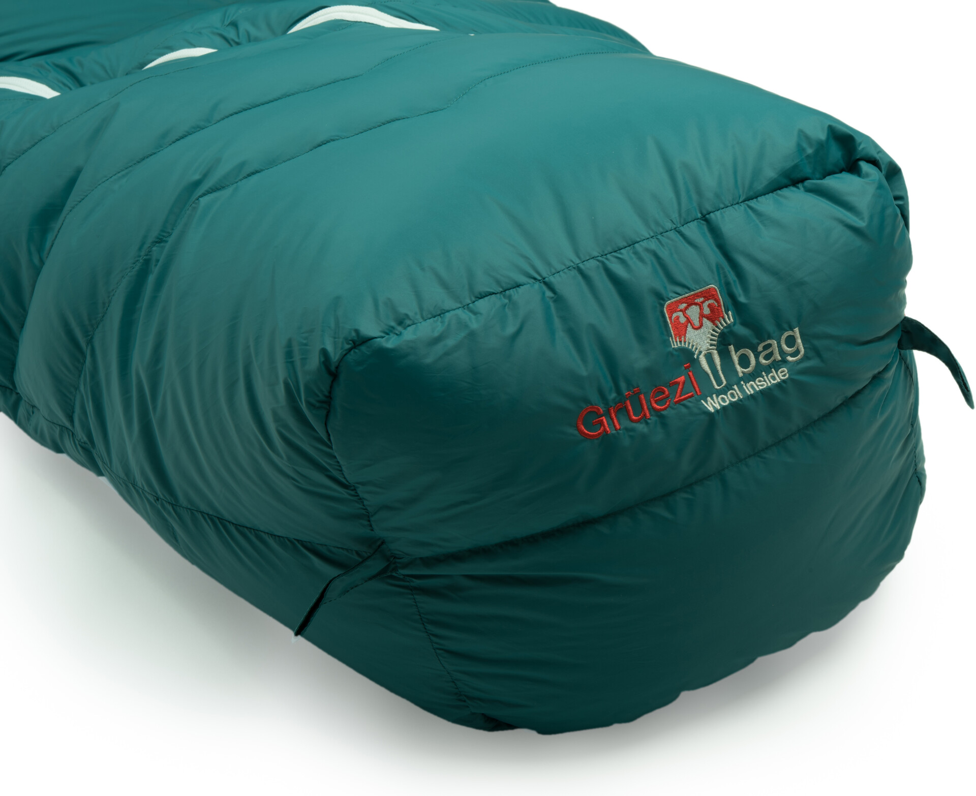 Gr/üezi-Bag Biopod DownWool Extreme Light 175 Sleeping Bag Viridian Green 2019 Schlafsack