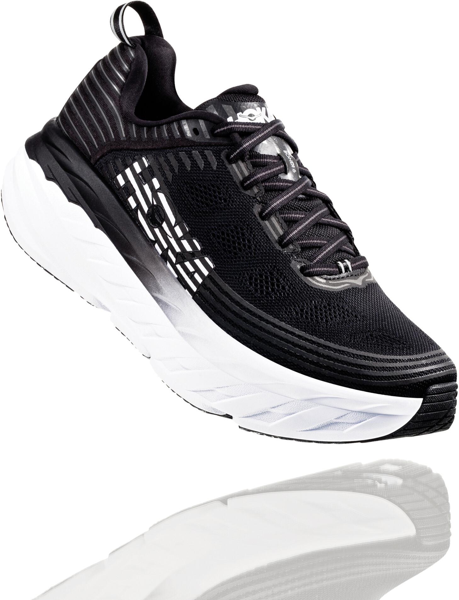 Hoka One One Bondi 6 Løbesko Herrer, black (2020) | Running shoes