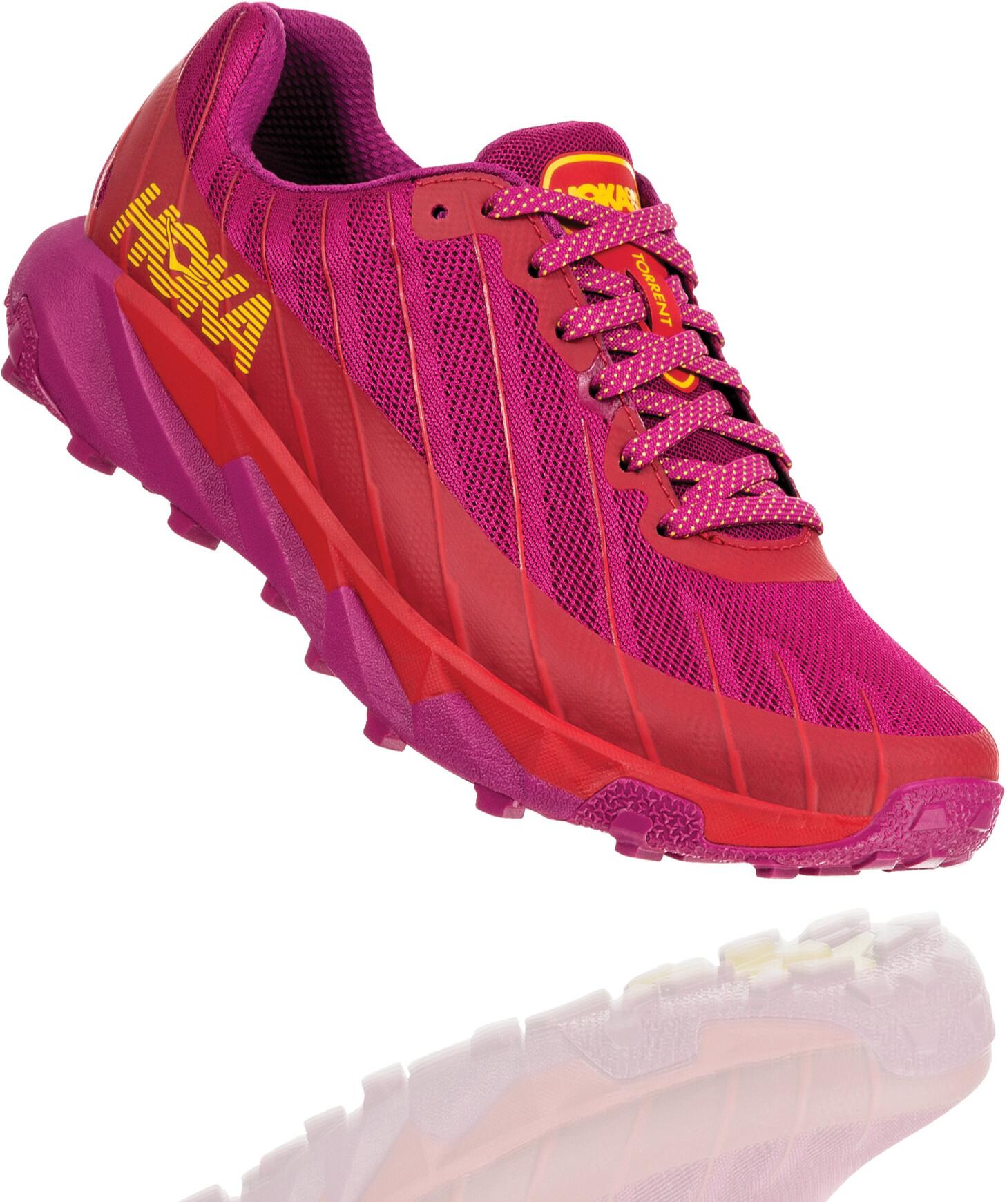Hoka One One Torrent Løbesko Damer, cactus flower/poppy red (2020) | Running shoes