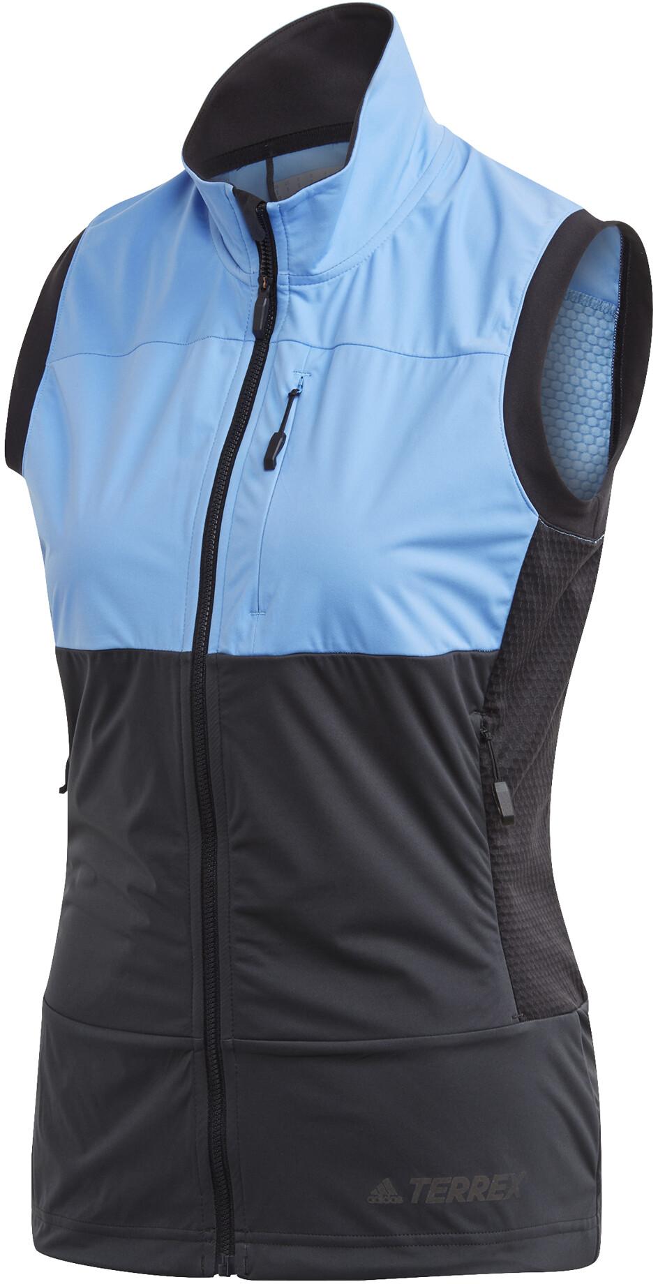 adidas TERREX Xperior Vest Damer, real blue/carbon | Vests