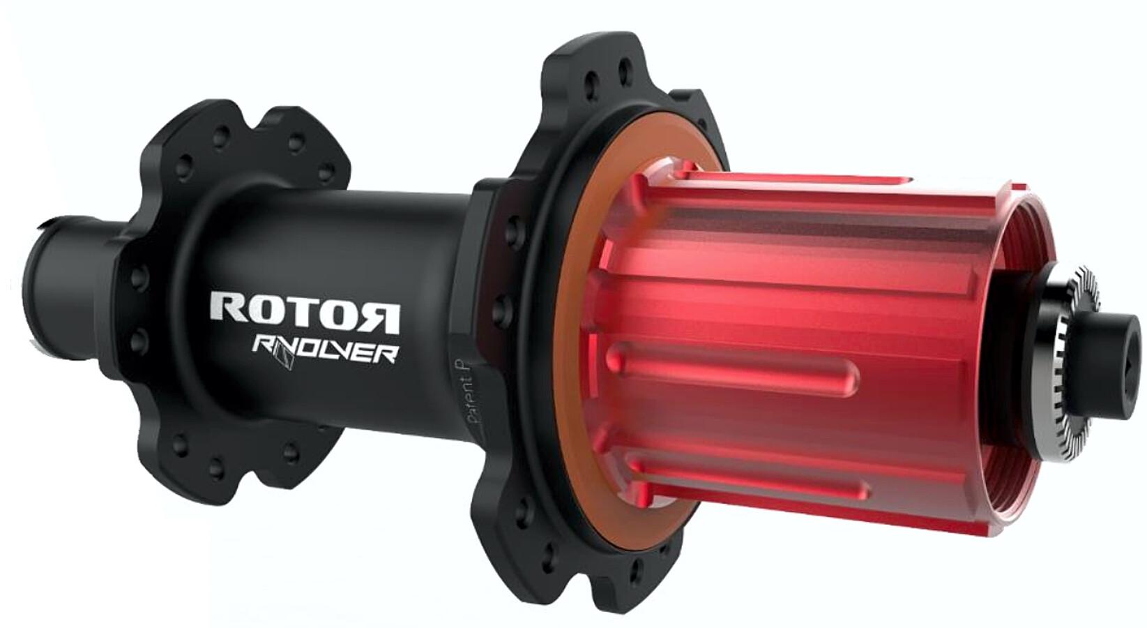Rotor R-Volver Bgahjulsnav Quick Release til Shimano-skive, black | Hubs