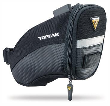 Medium Bicycle//Bike Seat Bag w// QuickClick Fixer NEW Topeak Aero Wedge Pack DX