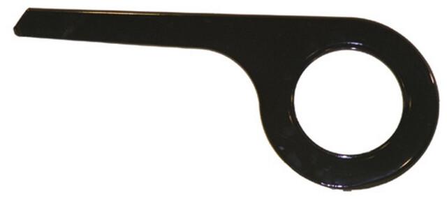 AXA Fahrrad Kettenschutz 1 flügelig 48 Zähne schwarz Nabenschaltung