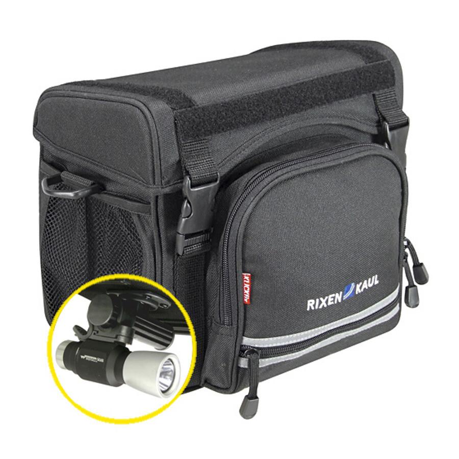 KlickFix Allrounder Touring Cykeltaske, black (2019) | Rack bags