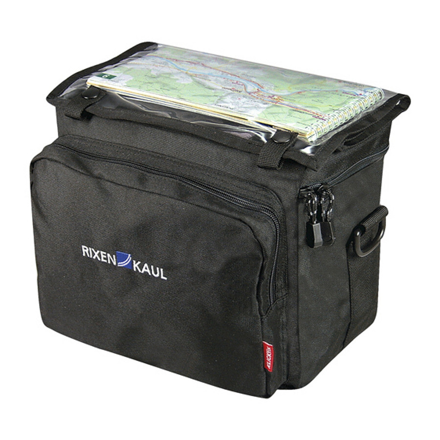 KlickFix Daypack Box Cykeltaske, black (2019) | Rack bags