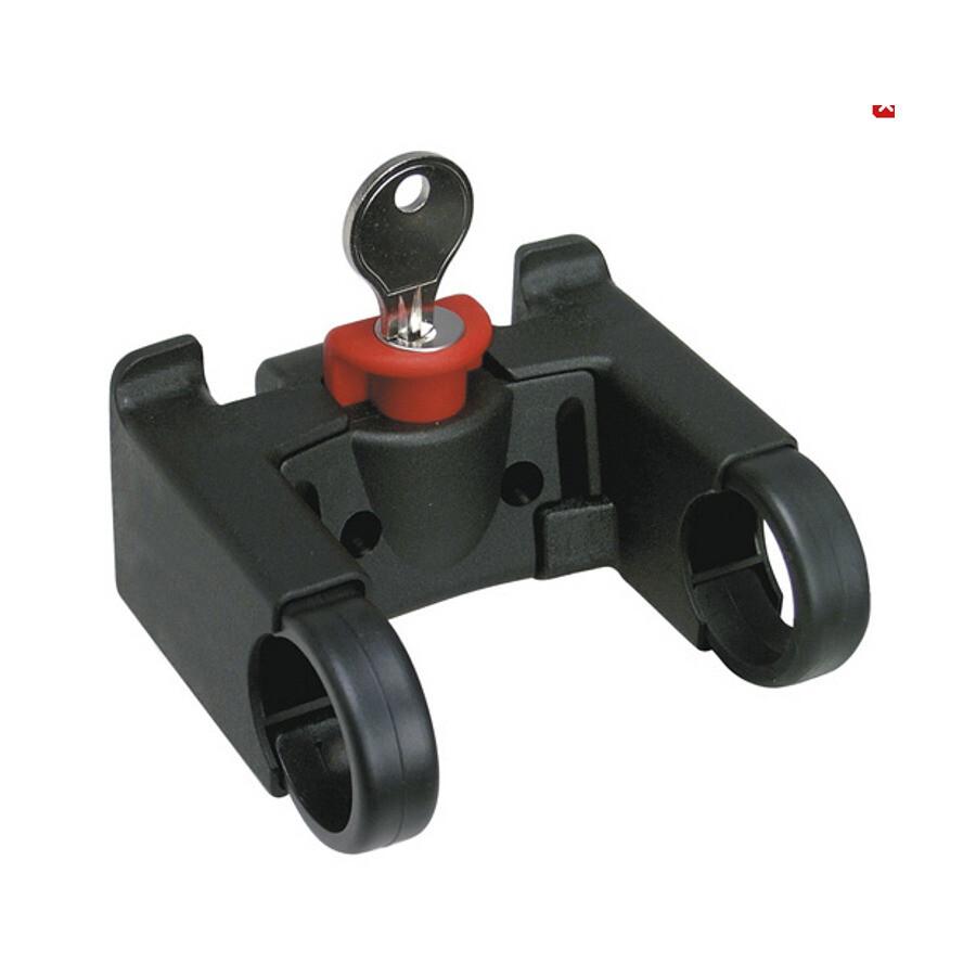 KlickFix Styradapter Med lås, black   Bags accessories