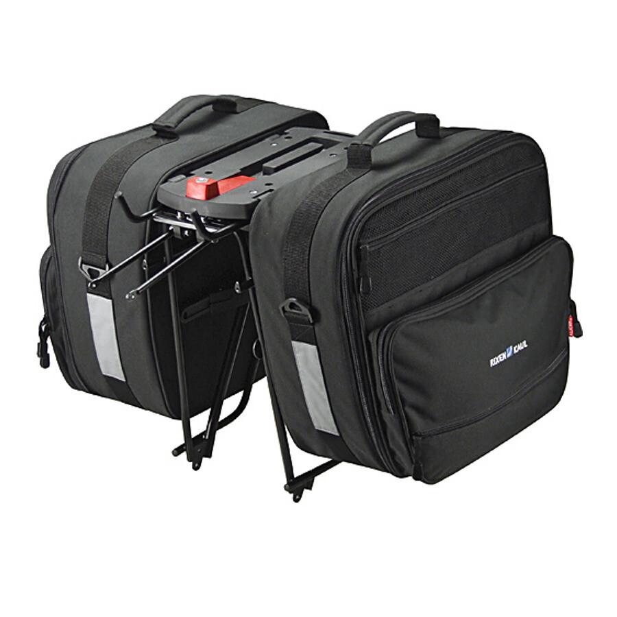 KlickFix Travelbags GTA, black | Rygsæk og rejsetasker