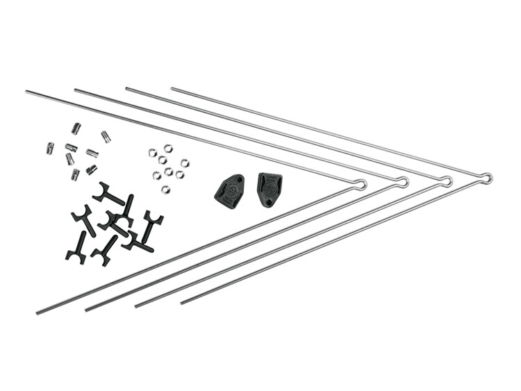 SKS Secu Strebensatz Chromoplastics 3.4, silver (2019)   Mudguards