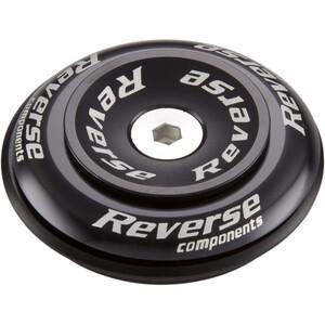 "Reverse Twister Top Cap 1 1/8"" Semi black black"