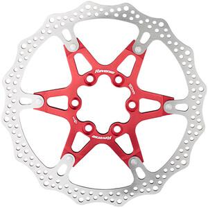 Reverse Bremsscheibe 6-Loch Aluminium/Stahl rot rot