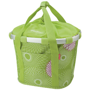 KlickFix Reisenthel Panier de vélo, crystals-lime green crystals-lime green