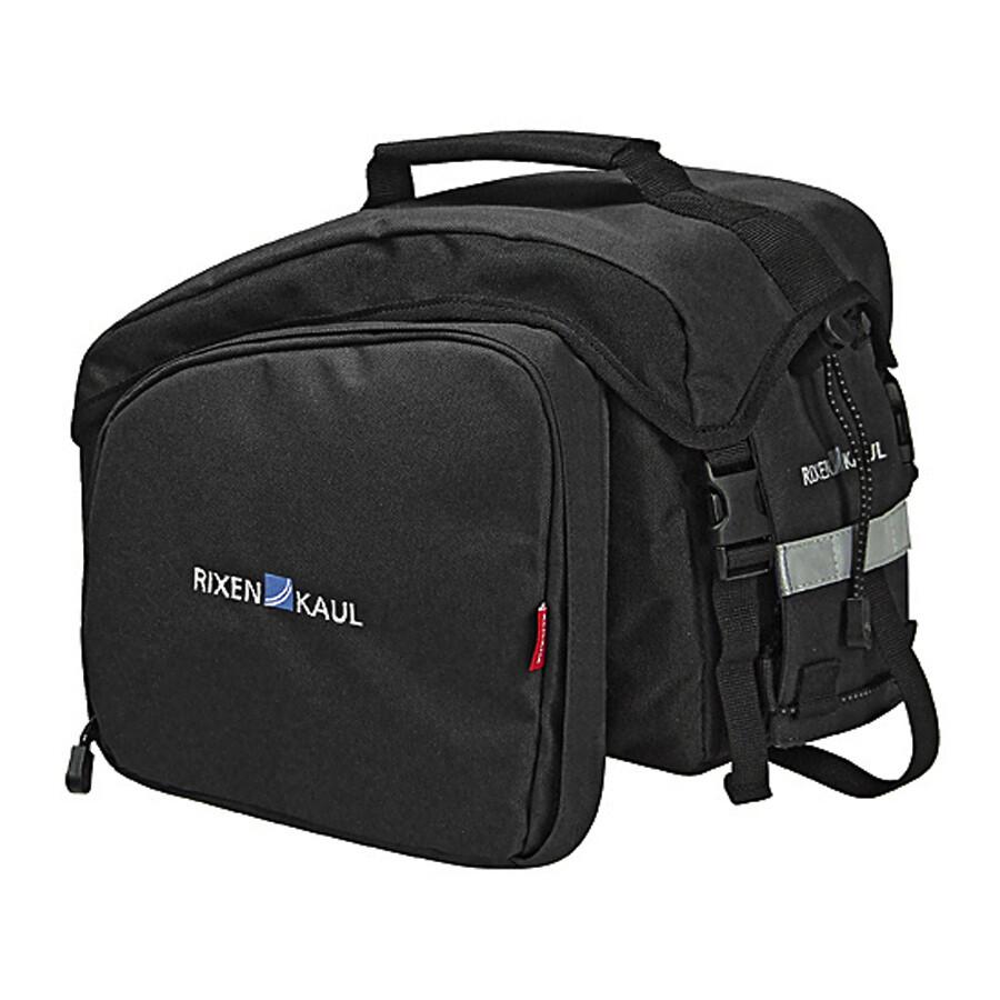 KlickFix Rackpack 1 Plus Gepäckträgertasche schwarz