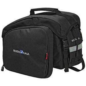 KlickFix Rackpack 1 Plus Draagbare Fietstas, zwart zwart