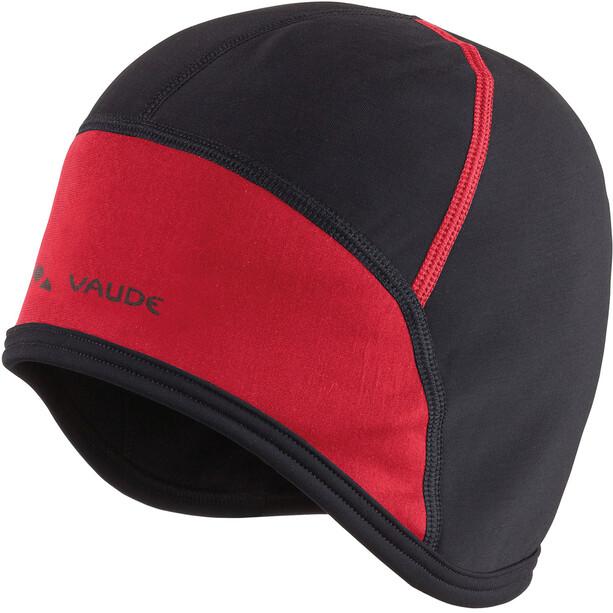 VAUDE Bike Cap black/red