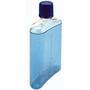 Nalgene PC Flachmann 300ml transparent/blau