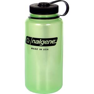 Nalgene Glow Wide Neck Bottle 1000ml, vihreä vihreä