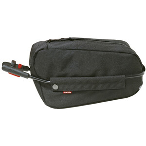 KlickFix Contour Seat Post Bag black black