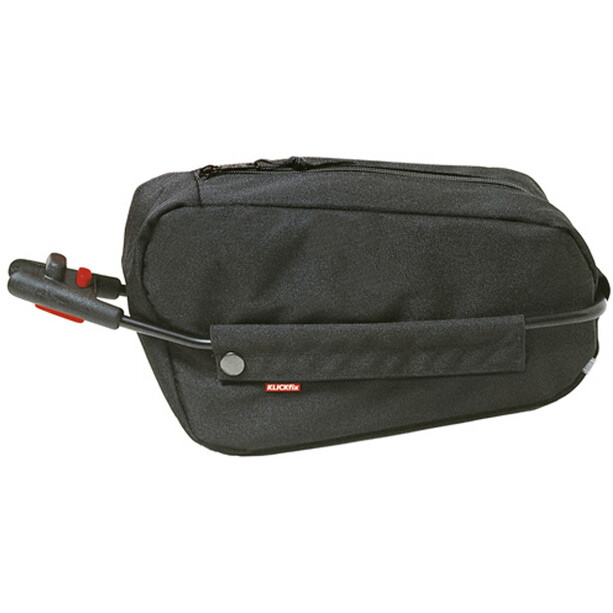 KlickFix Contour Seat Post Bag black